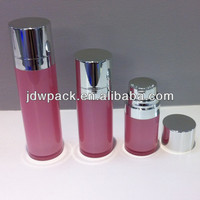 plastic cosmetic bottle acrylic lotion bottle for skin care