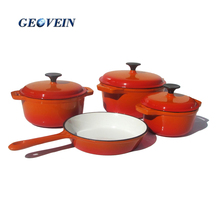 NEW Hot Sale Non-Stick enamel cast iron cookware kitchen ware/wares set