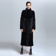 Wholesale Winter Women Long Sable Fur Coat