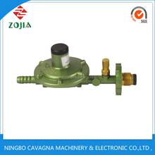 ASIA market hot selling , anti-explosion with guage ZJ-W103 Lpg gas pressure regulator