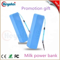 hot sell perfume micro rohs ce mobile power bank 2600 mah for gift