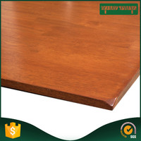 low price wood worktop , rubber wood worktop countertop from china