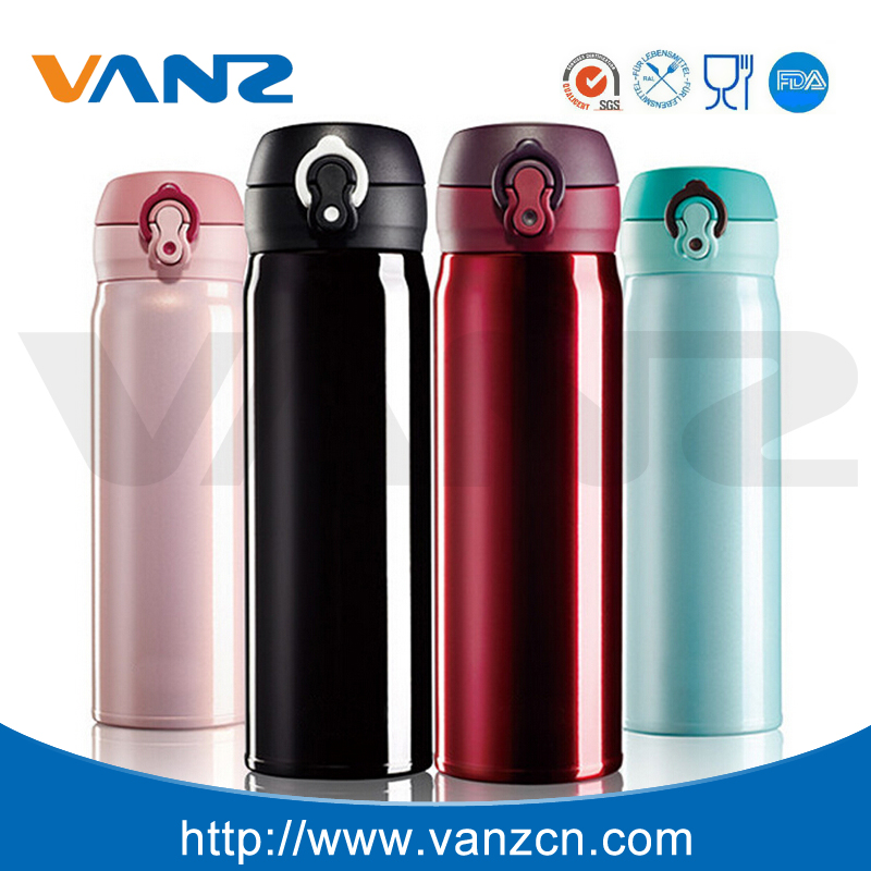 Double Wall Stainless Steel Thermos Fashion Coffee Travel Mug Vacuum Flask