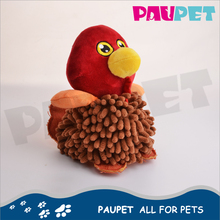 Reasonable & acceptable price soft animal pet shammy plush toy chicken