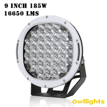 "Make In China Off Road New LED Driving Light 9"" Round LED Driving Light 111w led motorcycle headlight 9inch 12v"