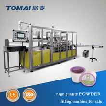 Automatic Powder Cup Filling And Sealing Machine