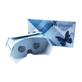 Flat packing custom printing google cardboard 3d vr glasses for smartphone