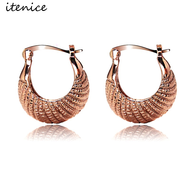 ywmt 2017 9.20 promotion minimalist mannequin <strong>14</strong> <strong>k</strong> rose gold plating African Earrings for women