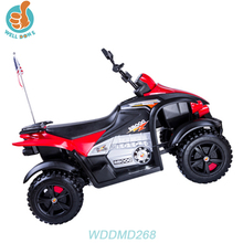 WDDMD268 Factory Price 6V Kids Electric Motorcycle Children Ride On Toy Motorbike Battery Powered Baby Motorcycle Car Pictur