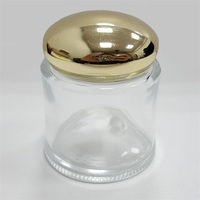 Shine Gold aluminum screw caps for glass bottles