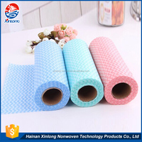 Professional manufacture factory price high quality kitchen disposable dish washing cloth towels for kitchen