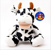 Soft cow toys stuffed novel Funny baby toys