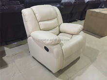 Comfortable home funiture leather recliner sofa(FOH-3612)