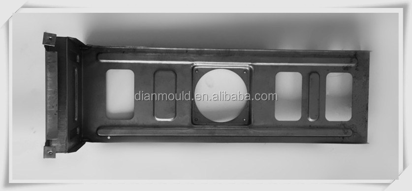 Air conditioner forming part punch molds