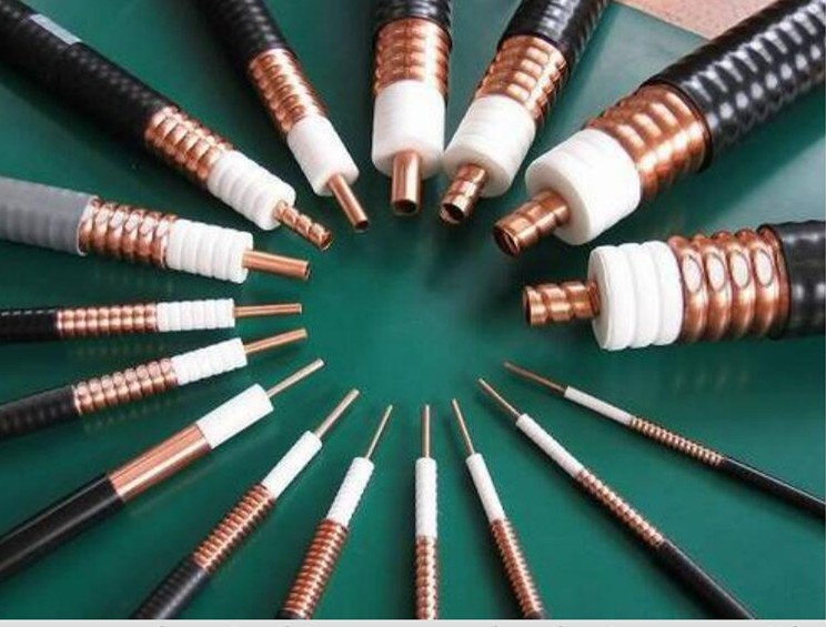 Low loss 50 ohm Corrugated Coaxial Cable 1/4'' , 1/2'' , 7/8'' , 1-1/4'' , 1-5/8'' cable wire electrical