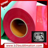 Hot selling flex flock rolls heat transfer vinyl