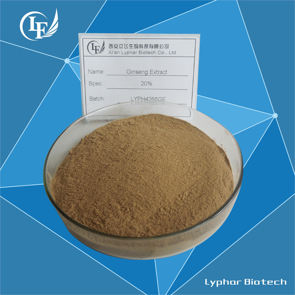 Lyphar Supply Top Quality American Ginseng Extract