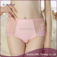 High stretch breathable sexy silky gauze lace ladies underwear
