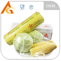 food grade transparent pvc plastic wrap film for packaging