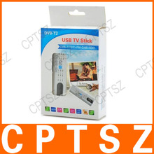 Mini DVB-T2 Digital TV USB Dongle Stick w/ FM / DAB / SDR / Remote Control - White + Black