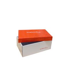 custom printed cardboard shoes packaging shipping box
