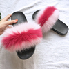 Hot Selling Princess Plush Pink Sandals