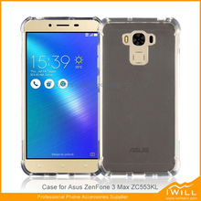 Mobile phone rubber alpha tpu gel shell for Asus zenfone 3 max ZC553KL