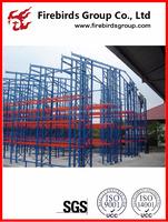 Q345 Storage US style steel Heavy Duty warehouse rack