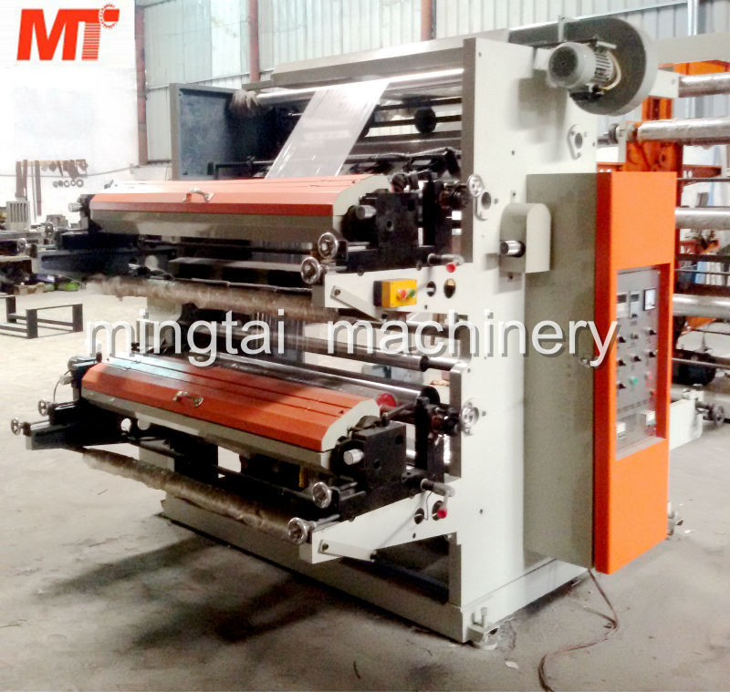 MT2600/2800/21000 roll paper flexographic flexo printing machine with two colors
