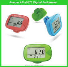 Hot sales colorful design adults kids pedometer watches