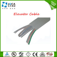 flat elevator cable for cctv camera Screened elevator travel cable