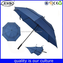 New product Stormproof golf umbrela supplier personalized Umbrellas