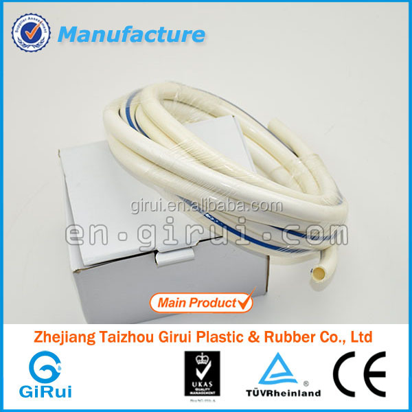 Flexible pvc shower hose fittings