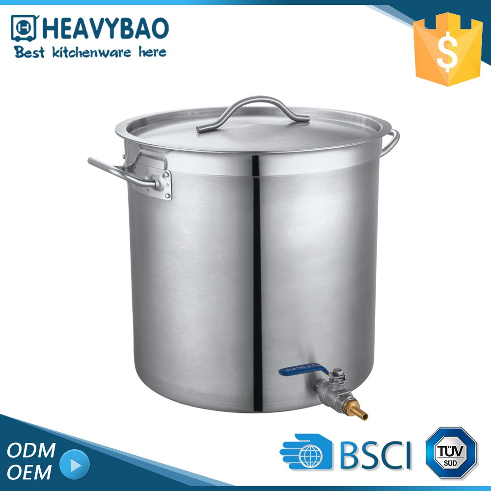 Heavybao Super Quality Thermal Soup Set S S Deep Stock Pot For Soup