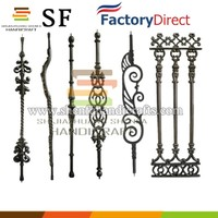 iron metal flower fencing stakes