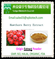 Factory Supply Hawthorn Berry Extract Vitexin 2% 3% 4% 5% 10%