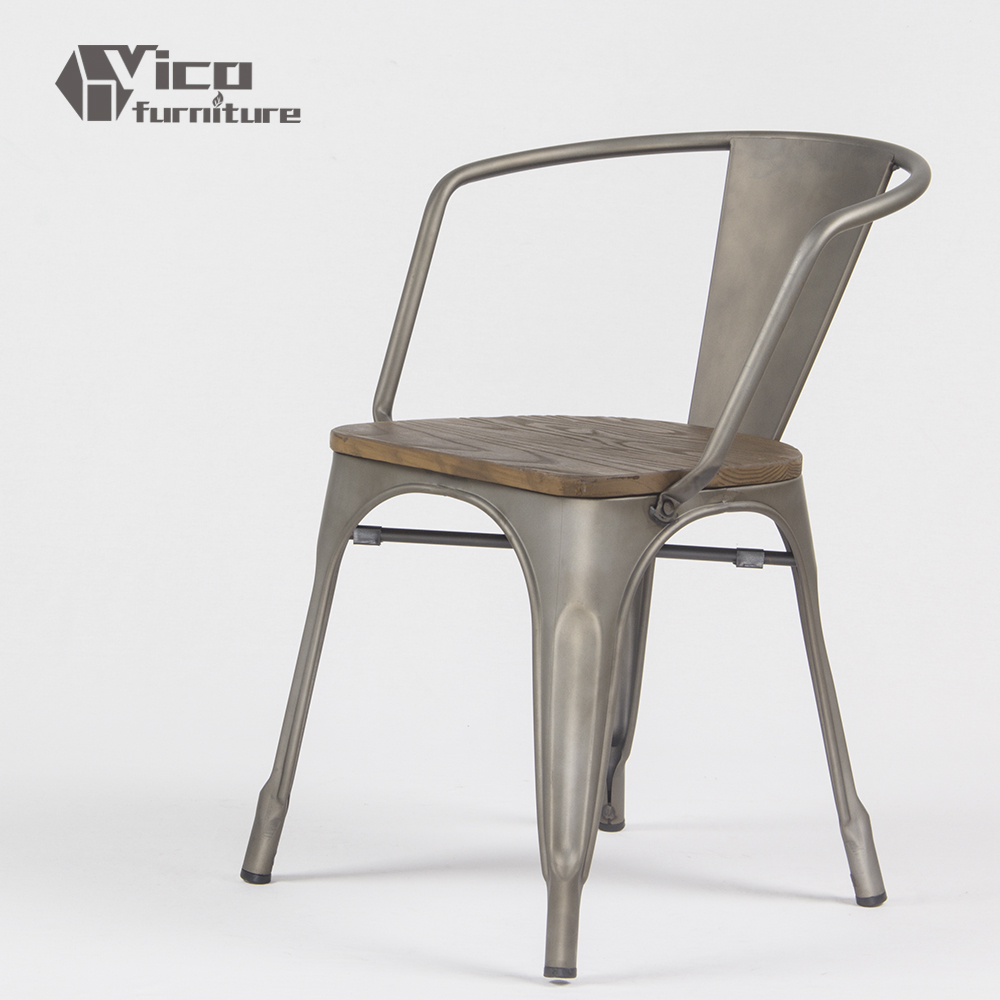 Steel Chairs Product : Hot selling best price steel iron frame modern design