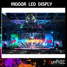 Thin Die-casting Aluminum Alloy Cabinet Indoor P5 P6 P10 full color ali express 2015 new product advertising led Stage Display