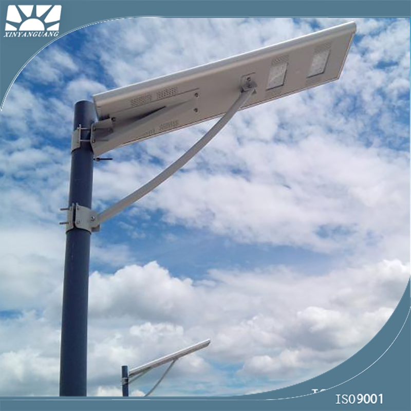 All In One Solar led Street Light, 100W integrated solar LED Street Lights with Shenzhen LED manufacturer