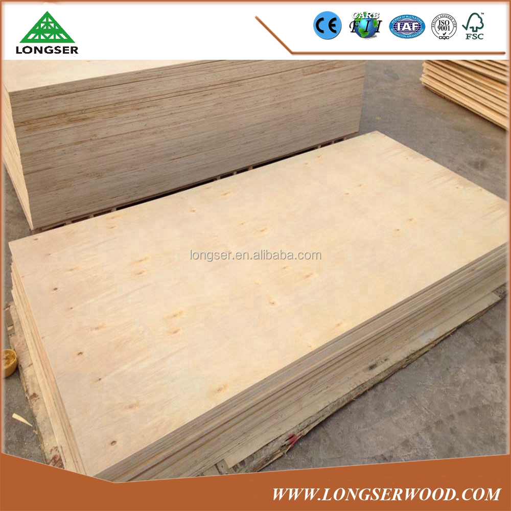 Good quality E1 glue door skin birch plywood