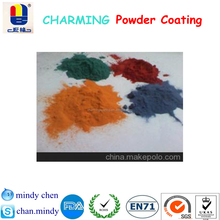 chemical durable toxic free fine quality epoxy polyester metallic powder paint