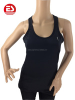 Hot sell high quality breathable black vest girls