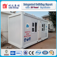 Sandwich panel fast installation and economical combined prefabricated container house for barracks