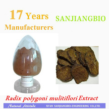 100% water soluble with TLC products Polygonum multiflorum Extract 10:1/Fo-ti Extract powder