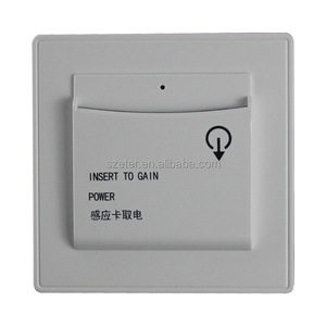RFID Hospitality Keycard Switch Hotel Card Key Energy Saving Switch 240v time delay switch