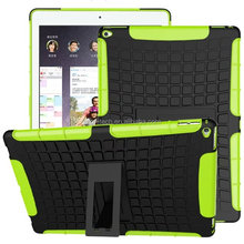 Impact Resistant Hybrid Dual Layer Case Cover with Built-in KickStand for Apple iPad
