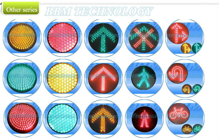 100mm traffic light core Red green traffic control