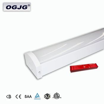 Custom Design DALI Dimming supermarket Project Up And Down Lighting Hallways Stairs Emergency Led Ceiling batten Light
