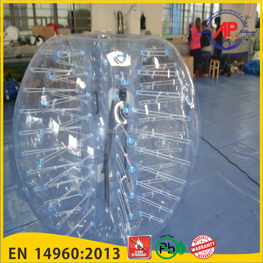 bumper ball body ball body bounce grass ball,bumper ball for kids,inflatable belly bumper ball