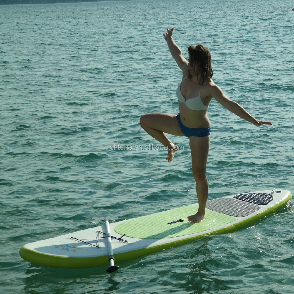Surfing Inflatable Stand Up Paddle Board fin
